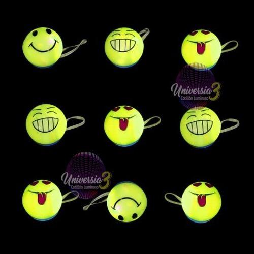 10 Nariz Smile Led Cotillon Luminoso Led Carioca Payaso