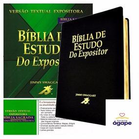 Bíblia Do Expositor - Jimmy Swaggart Preta + Brinde