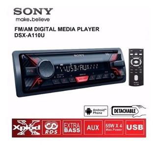 Stereo Sony Dsx A110 Usb Aux Modelo 2017 Reemplaza A100