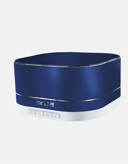 Bocina Bluetooth Con Funcion De Radio Y Ranura Sd Azul