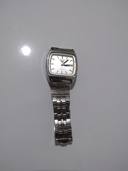 Relógio Pulso Automático Seiko 5, Usado.