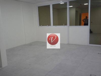 Sala Comercial Para Locação, Vila Homero Thon, Santo André. - Sa0442