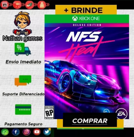 Need For Speed Heat Deluxe Edition Xbox One + Brinde