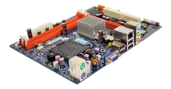 Kit Placa Mãe 775 + Processador Intel Dual Core E5400 - Novo