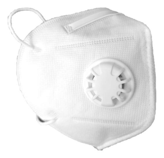 Cubre Bocas N95 Con Filtro/válvula C E Pack 10 Piezas