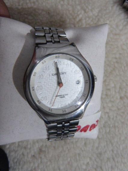 1 Relógio Orient Quartzo Masc. Mod. Mbsp1-003 Cx 42 X 47 Mm