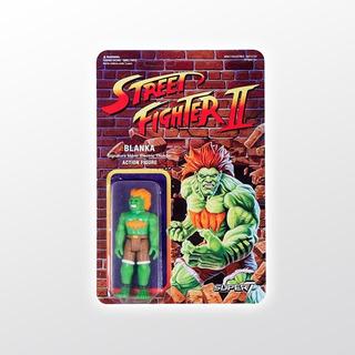 Street Fighter 2 Reaction Blanka Super 7 Tierra Prima