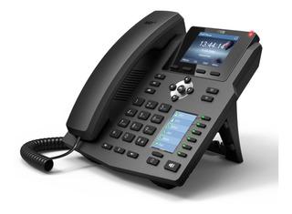 Telefone Ip Fanvil X4 Poe 4 Linhas Empresarial Nota Fiscal