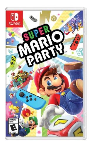 Imagen 1 de 1 de Super Mario Party Nintendo Switch