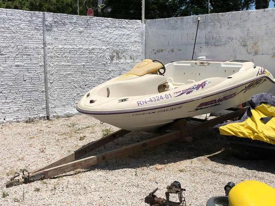 Jet Boat / Ski - Speedster Sucata Para Retirada De Peças