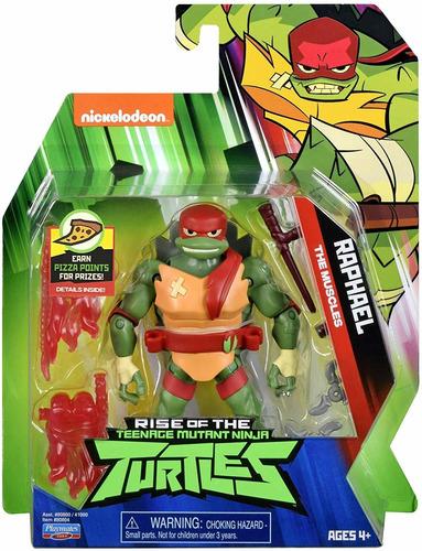 Imagem 1 de 5 de Tartarugas Ninja - Figuras De Ação - Raphael 12 Cm - Sunny