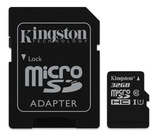 Cartão de memória Kingston SDCS Canvas Select 32GB