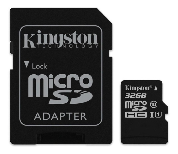 Cartão Memoria Micro Ss 32gb Kingston Classe 10