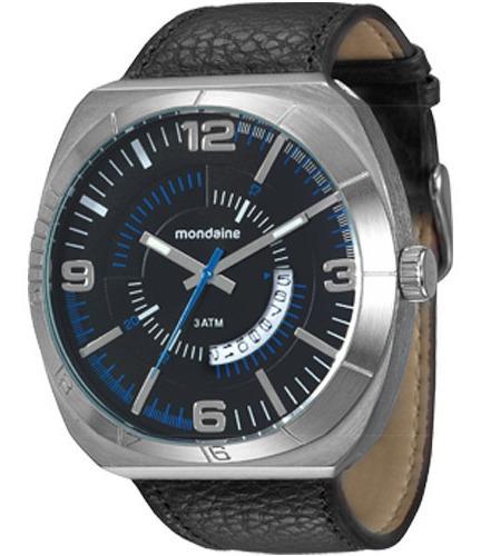 Relógio De Vltrine Mondaine Masculino 76399g0mvnh2 De Couro