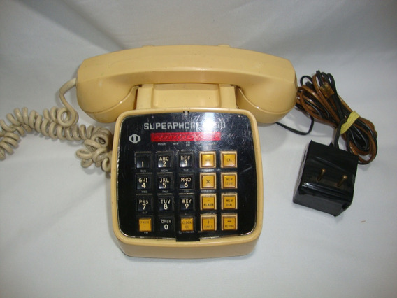 Antigo Aparelho De Telefone Anos 80 **não Funciona**