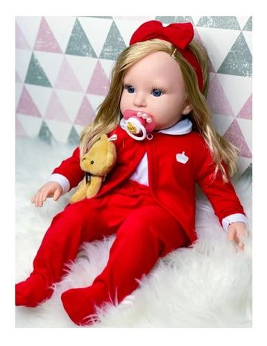 Boneca Bebê Reborn Boneca Realista Com Acessórios