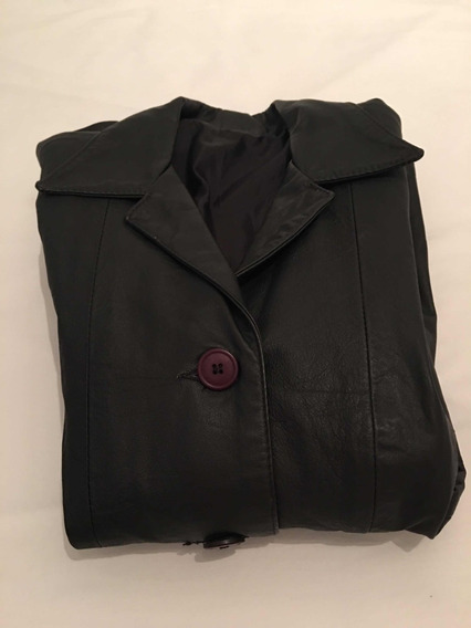 Blazer/jaqueta De Couro Legítimo Feminino Julian Marcuir Tam