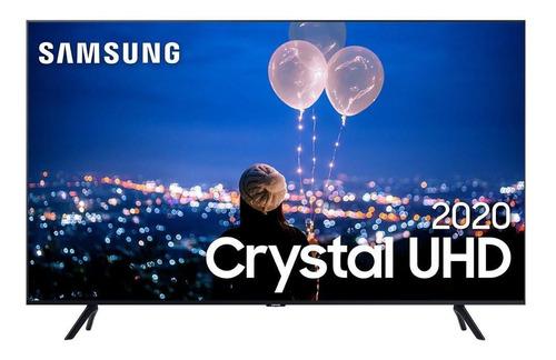 Smart Tv Led Samsung 50  Tu8000 4k Crystal C/ Borda Infinita