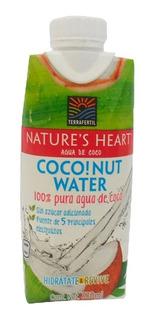 Agua Nature Heart Coco Sin Azucar X 330ml