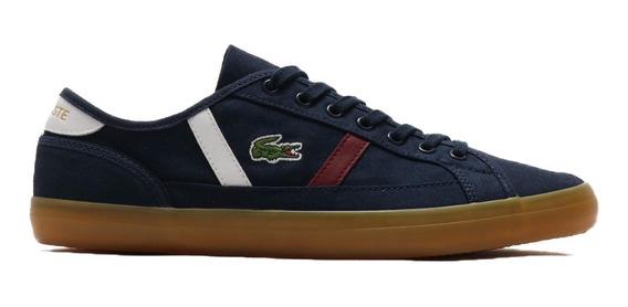 Zapatillas Lacoste Sideline 319 1 Cma Azul Nwr I20