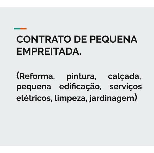 Contratos De Locação E Pequena Empreitada (feito Sob Medida)