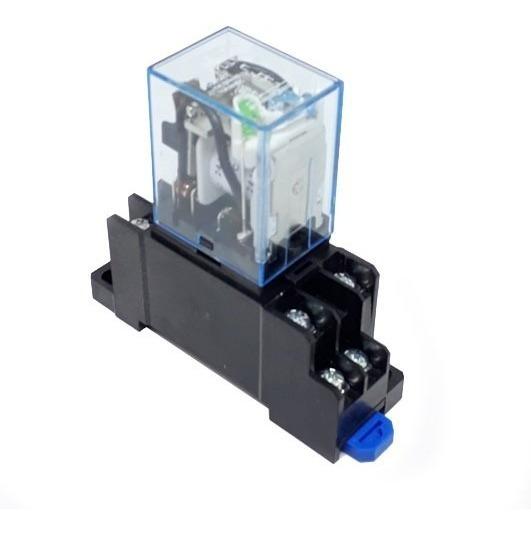 Ly2nj 12vcc Modulo Relé Acoplador Interface Com Socket