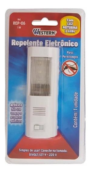 Repelente Eletronico P/ Pernilongo Com Luz Noturna Bivolt