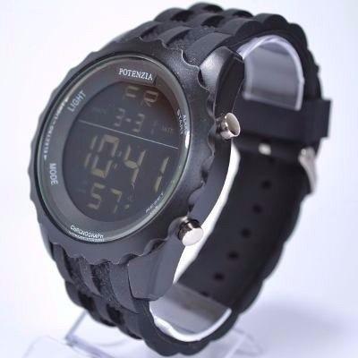 Relógio Potenzia Digital Cronômetro Resistente Luz Promoção