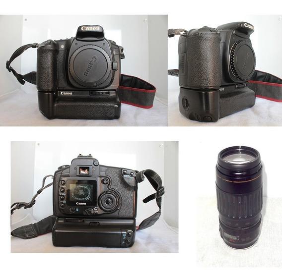 Canon 20d Com Lente 100-300 Mm