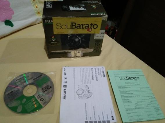 Câmera Semi Profissional Finepix S2980 Zoom Ótico 18x