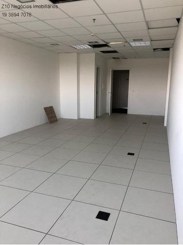 Sl00967 - Sala Comercial  Com Localização Privilegiada E Condomínio Com Infraestrutura De Segurança - Sky Towers Office Indaiatuba - Au 55m² - - Sl00967 - 34783605