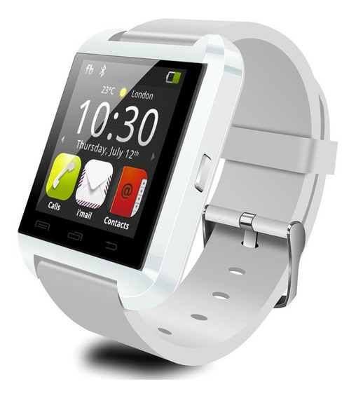 U8 Smart Watch Fitness Pulsera Wear Pantalla Táctil Llamadas