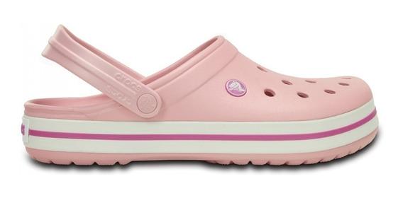 Crocs Originales Crocband C11016pw Pearl Pink(rosa Perlado)