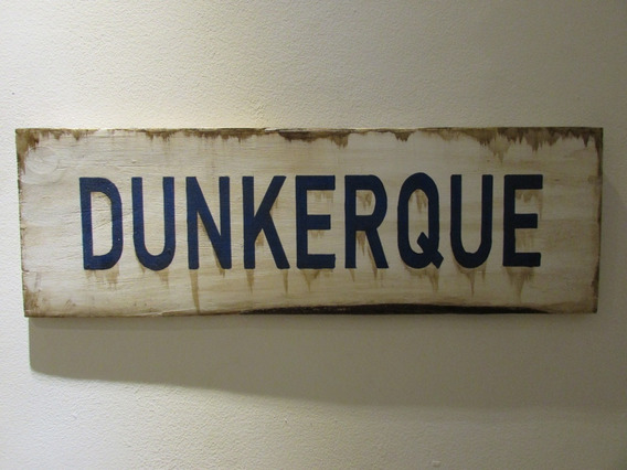 Placa Decorativa Segunda Guerra Mundial Dunquerque Dunkirk