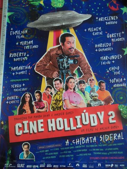 Poster:cartaz:cine Holliúdy 2:falcão:cinema:94cm X 64cm