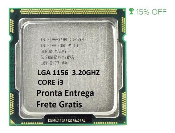 Processador Intel Core I3-550 3,2ghz 4mb Lga 1156 Semi Novo