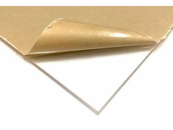 Lamina De Acrilico Trasparente 60 X 120 Cms En 3 Mm