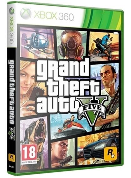 Jogo Grand Theft Auto V Gta 5 Xbox360 Midia Fisica Português