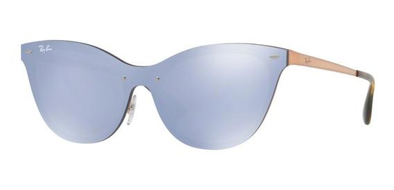 Ray Ban Blaze Cat Eye Rb 3580n Óculos De Sol
