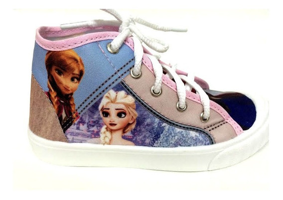 Tênis Botinha Yuupiii Infantil Frozen Elsa Anna 114