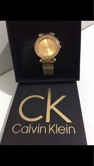 Lindo Relógio Feminino Calvin Klein ComUma Linda Caixa