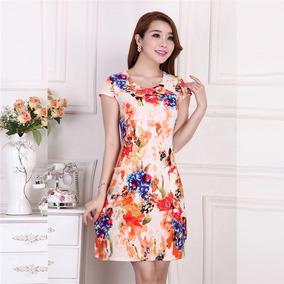 30a81fc493 Vestido Bonito Casual Dia - Vestidos Casuales de Mujer en Mercado ...