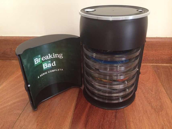 Blu-ray - Breaking Bad: Ed.colecionador 17bd - Edição Barril