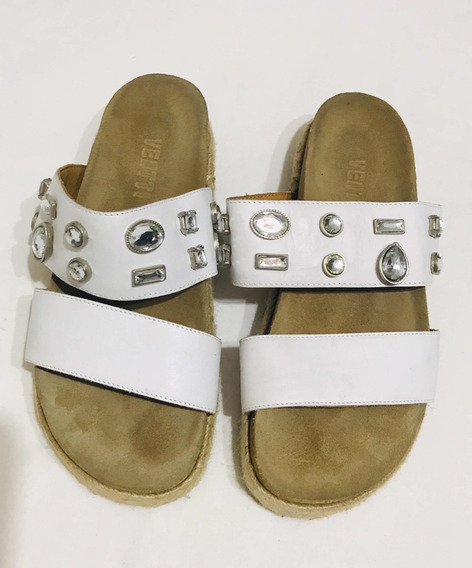 Sandalias Con Piedras Ventti Talle 38
