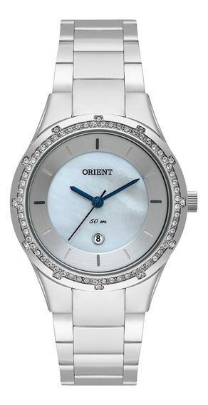 Relógio Orient Feminino Fbss1148 B1sx Prata - Refinado