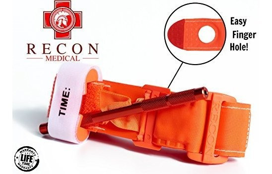 Torniquete (color Naranja) Recon Medical Gen 3 Mil-spec, Co
