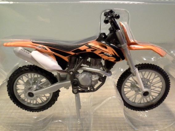 Miniatura Moto Ktm 450 Ex-f Majorette Escala 1:24 (9,2 Cm)