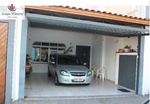 Sobrado A Venda No Bairro Santana Em São Paulo - Sp.  - Jv395-1