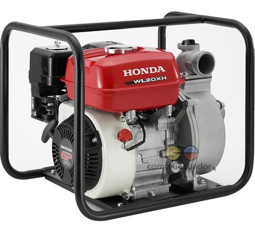 Honda Bomba De Agua 4.8 Hp 163 Cm3 Diámetro 2¨ 3 Bar
