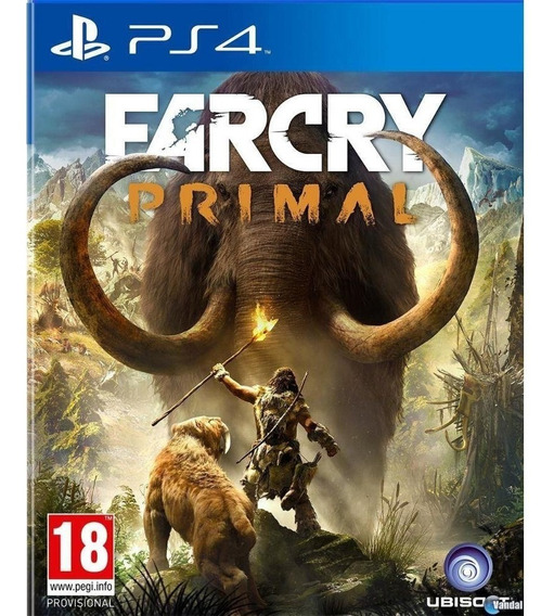 Jogo Far Cry Primal Playstation 4 Ps4 Português Mídia Física